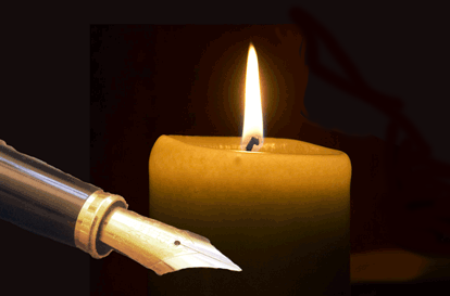 Candle & Pen